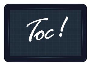 toc, humiliation, ardoise, exclamation, message, étiquette,